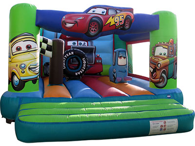Bouncy castle Cars image