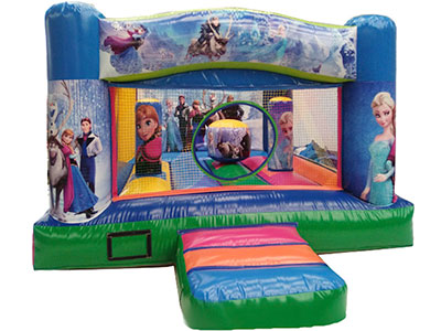 Bouncy castle Frozen image