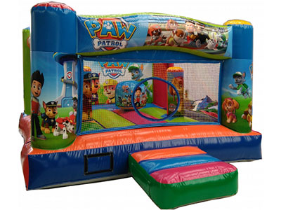 Bouncy castle Paw Patrol image