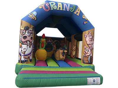 Bouncy castle with awning Farm image in Malaga