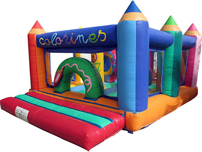 Bouncy castle Colorines image