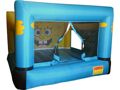 Bouncy castle Mini Bob Esponja image