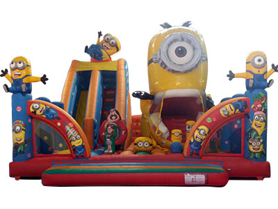 Inflatable guzzler Minions image