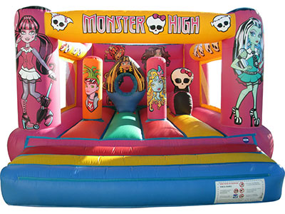 Imagen de castillo hinchable Monster High