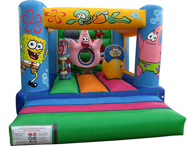 Bouncy castle Multi Bob Esponja image