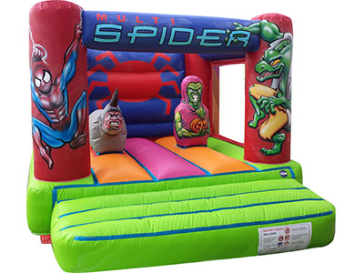 Bouncy castle Spiderman image