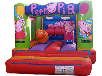 Bouncy castle Pepa Pig image
