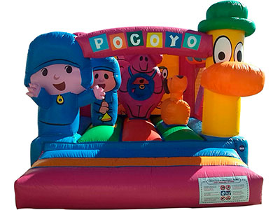 Bouncy castle Pocoyo image