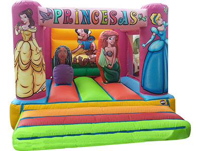 Bouncy castle Princesas image