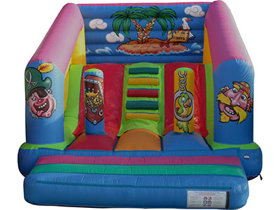 Inflatable slide Pirata image
