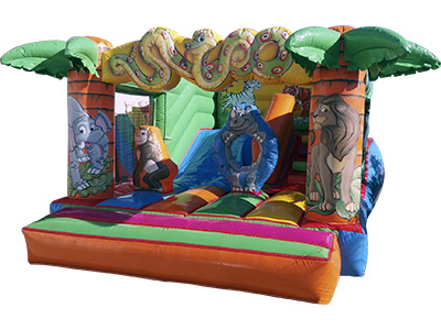 Inflatable slide Jungle image